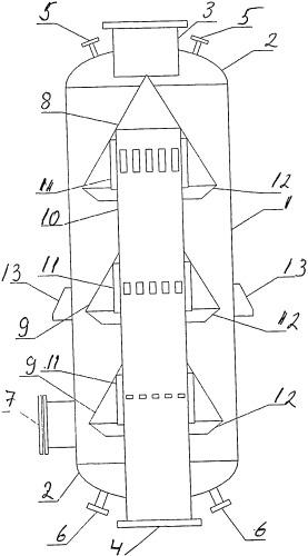 Фильтр-грязевик вертикальный инерционный