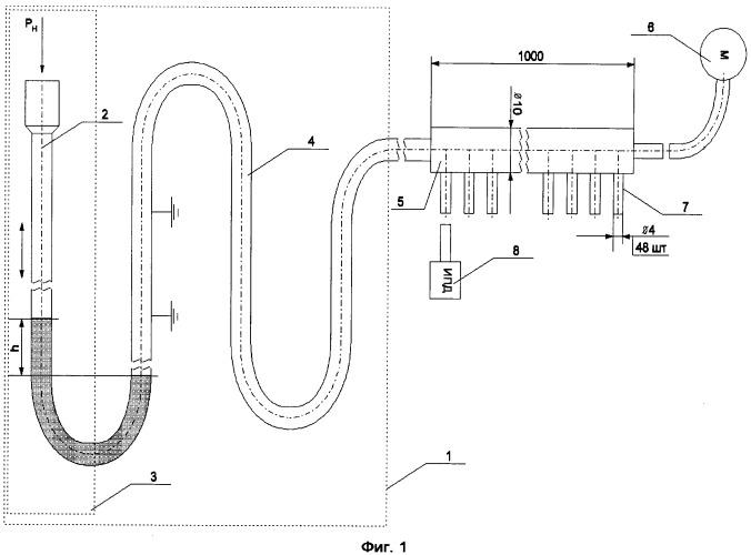 Устройство для тарировки измерительных приборов дифференциального давления