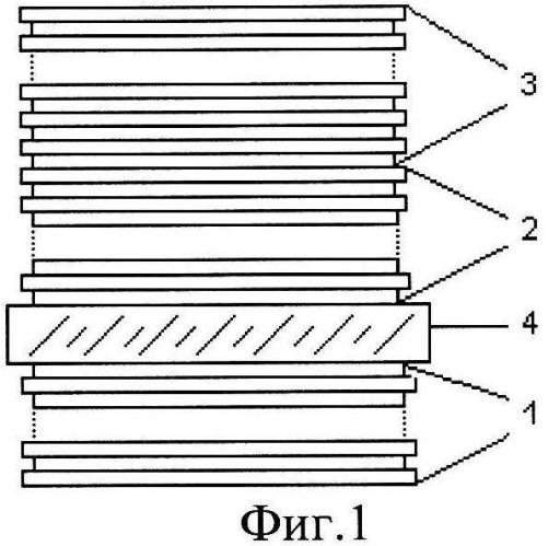 Многоспектральный интерференционный светофильтр для защиты от лазерного излучения
