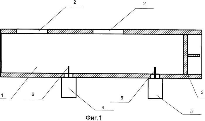 Резонансная волноводно-щелевая антенна