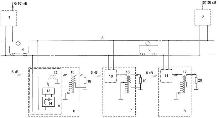 Способ направленного обмена энергией между электрическими сетями коммунального хозяйства и городского электрифицированного транспорта