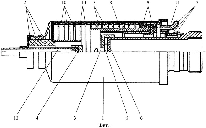 Плавильная печь установки для плазменно-дуговой плавки