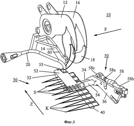 Подающее устройство для элементов подвеса