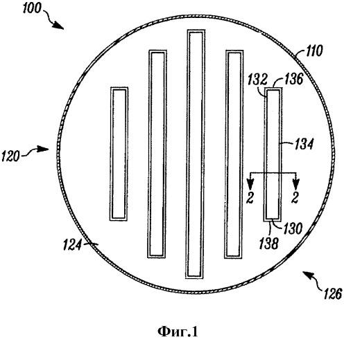 Устройство для контактного взаимодействия газа и жидкости