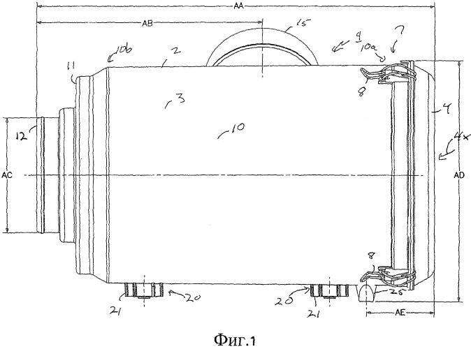 Фильтрующий патрон (варианты) и узел воздушного фильтра (варианты)
