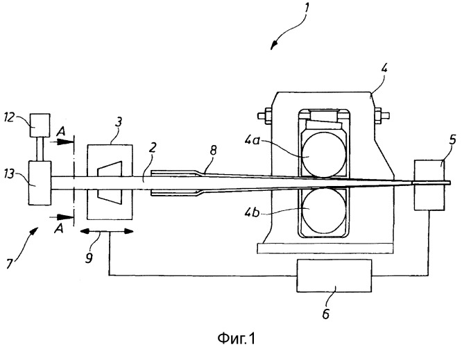 Способ и устройство для изготовления труб методом холодной пилигримовой прокатки