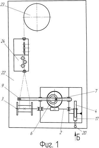 Устройство для намотки гибкого длинномерного материала