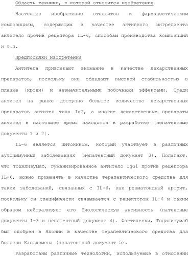 Антитело против рецептора il-6
