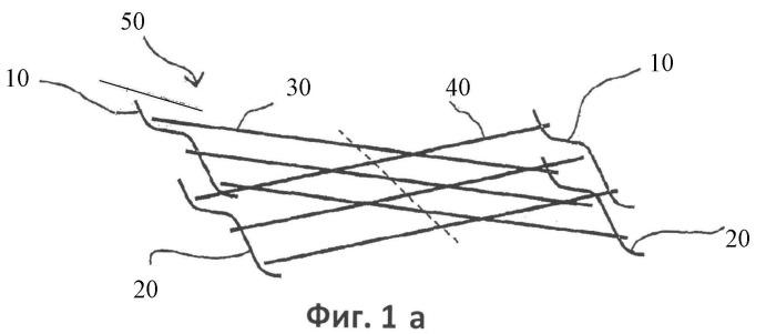 Способ тканья замкнутых структур с пересекающимися стенками