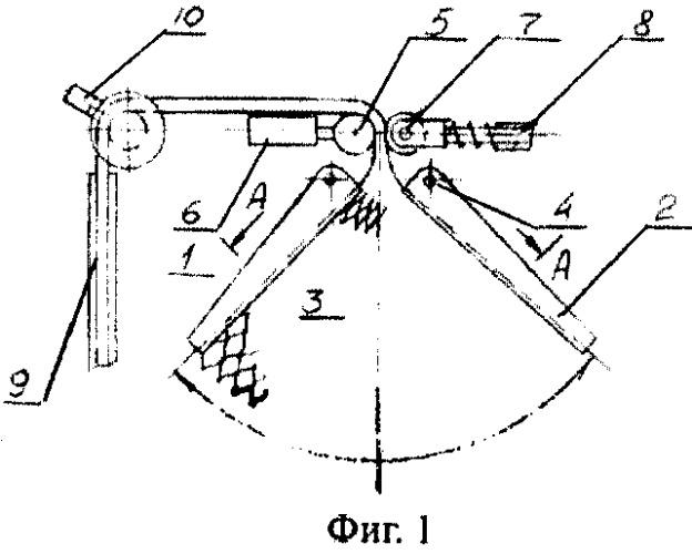 Укладчик георешетки с оборудованием для хранения георешетки и ее расправления при укладке