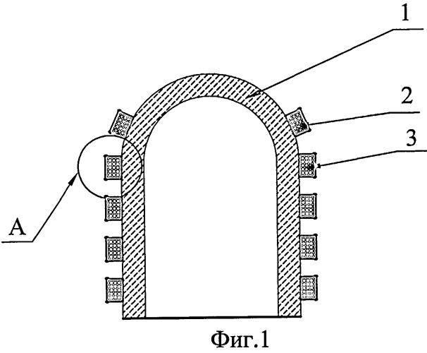 Способ сооружения железобетонной оболочки и оболочка