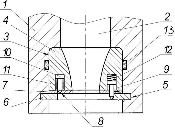 Промывочный узел бурового долота (варианты)