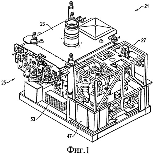 Система, способ и устройство для модульного узла фонтанной арматуры, обеспечивающие уменьшение веса груза в процессе транспортировки фонтанной арматуры к буровой установке