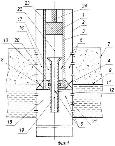 Устройство для регулирования конуса воды в скважине