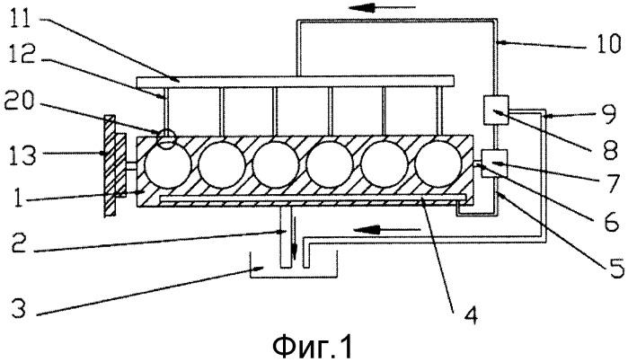 Самоадаптивная гидравлическая система с изменяемыми фазами газораспределения для дизельного двигателя и способ управления