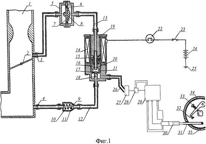 Устройство управления углом зажигания для двигателя внутреннего сгорания