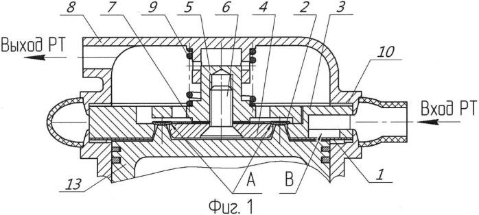 Самодействующий комбинированный клапан поршневого компрессора