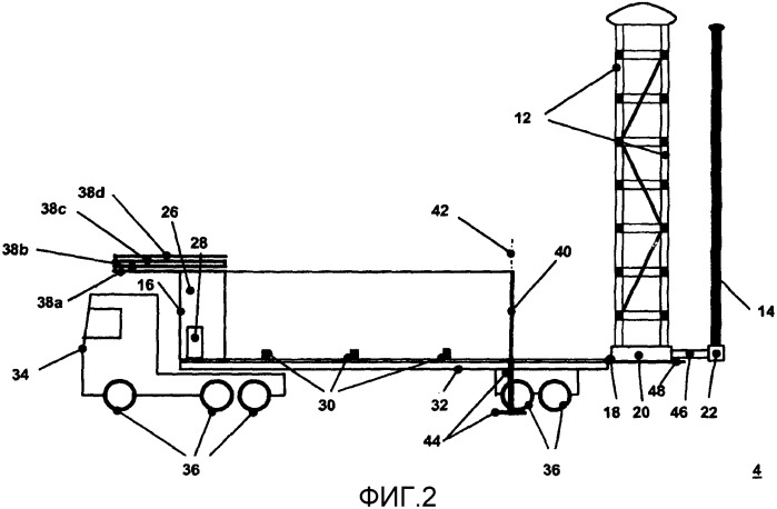 Испытательная система для проверки импульсным напряжением электрических высоковольтных компонентов