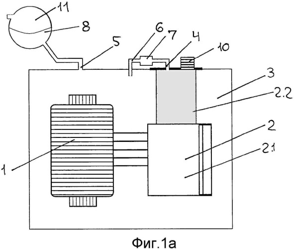 Силовой трансформатор с переключателем секций обмоток трансформатора