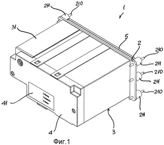 Прерыватель среднего напряжения со встроенным электронным блоком защиты