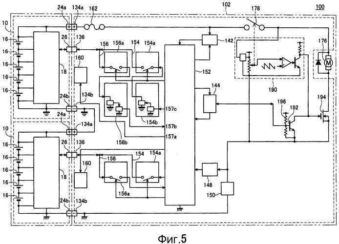 Интерфейс источника питания для электрического инструмента, питаемого множеством батарейных источников питания