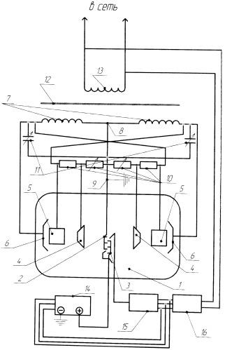 Электронный генератор электроэнергии
