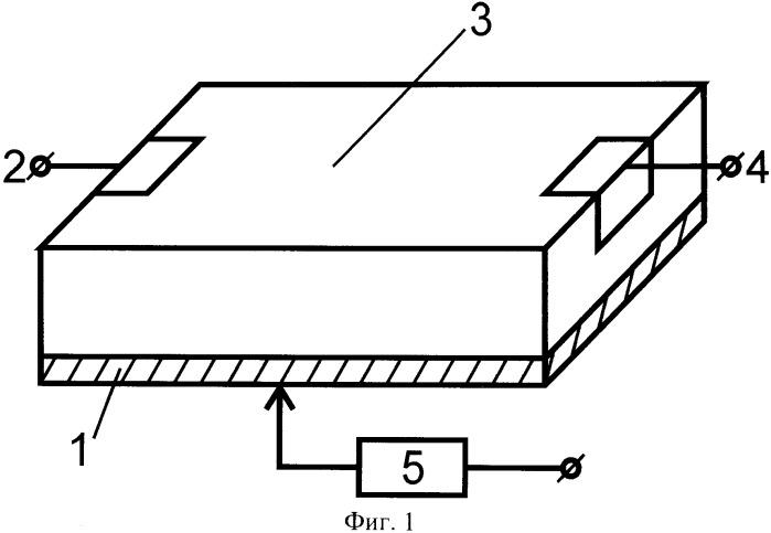 Регулируемое акустоэлектронное устройство
