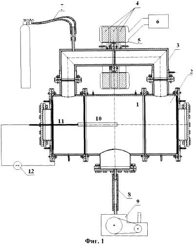 Трансформаторный плазматрон низкого давления для ионно-плазменной обработки поверхности материалов
