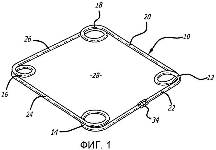 Кольцо, применяемое в хирургической операции факоэмульсификации на суженном зрачке