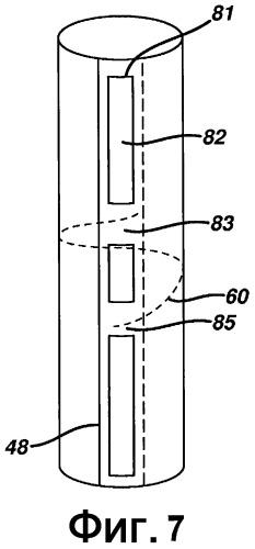 Схема уплотнения для оболочки тампона