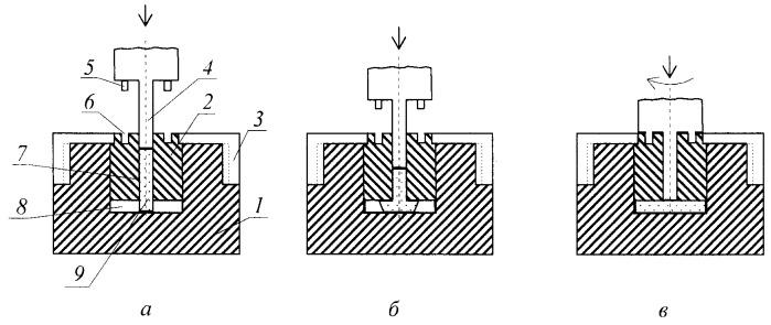 Способ обработки заготовки деформированием с обеспечением комбинированной интенсивной пластической деформации и устройство для его осуществления