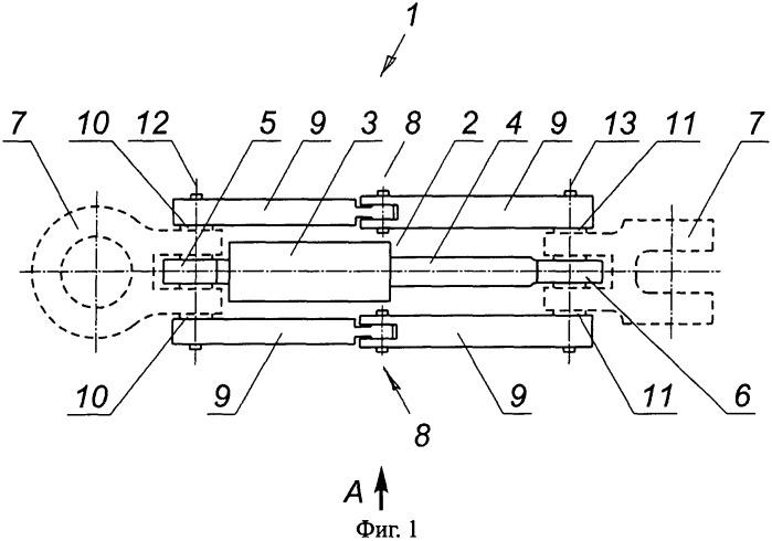Модуль силового узла сцепного устройства и сцепное устройство с таким модулем (варианты)