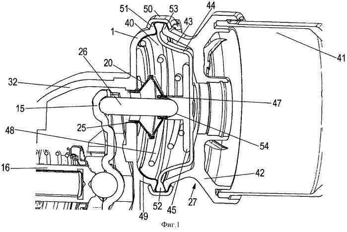 Пневмоуправляемый дисковый тормозной механизм и тормозной цилиндр