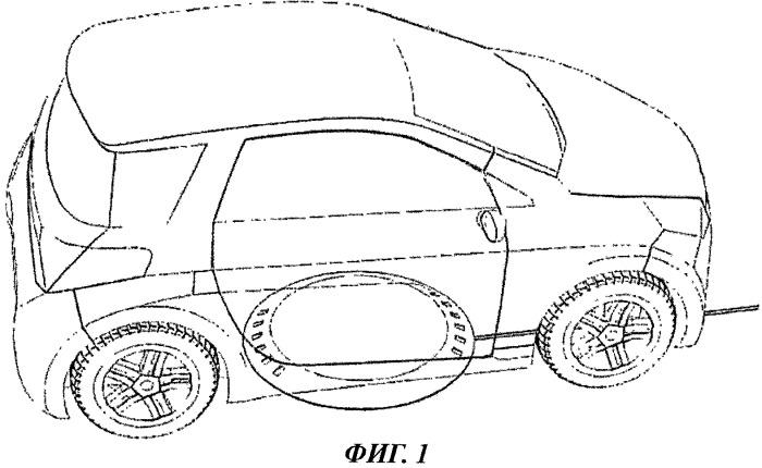 Система для индуктивной зарядки транспортных средств, снабженных электронной системой позиционирования