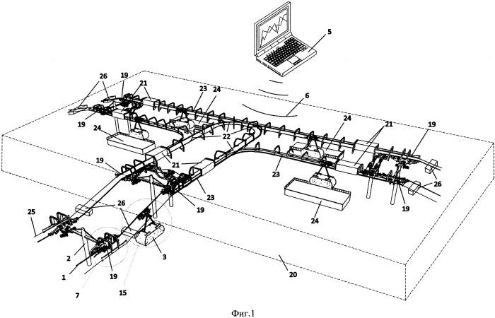 Транспортная система (канатное метро)