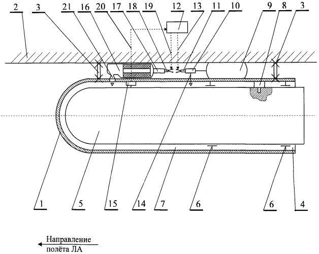 Способ сброса полезной нагрузки с летательного аппарата