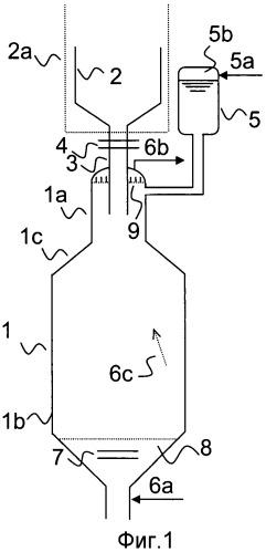 Устройство для выгрузки шлака из реактора для газификации угля