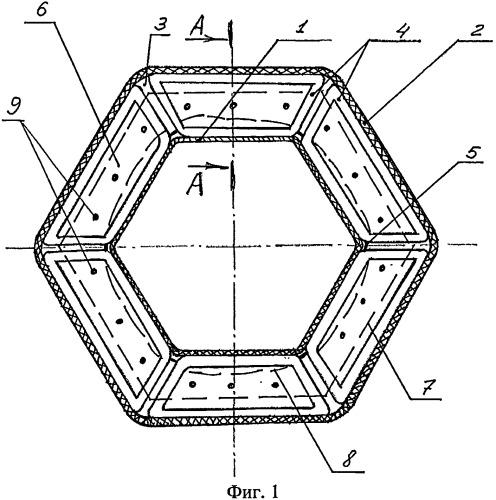 Многослойный силовой конструкционный элемент