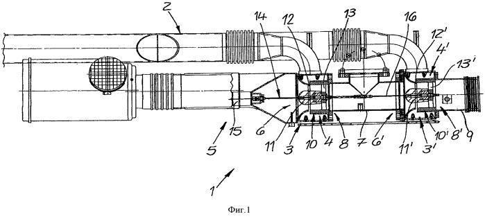 Способ эксплуатации газовых двигателей с низкокалорийным газом, содержащим ch4, и смесительное устройство для осуществления способа