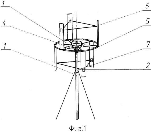 Способ балансировки ветроколеса вертикально-осевой ветроэнергетической установки