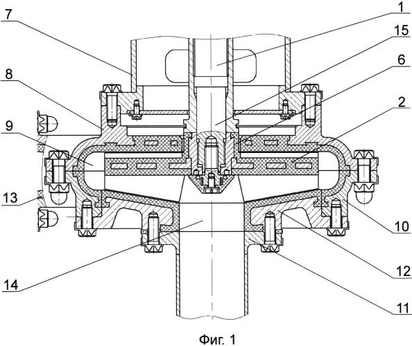 Вертикальный пульповый насос с рабочим колесом открытого типа