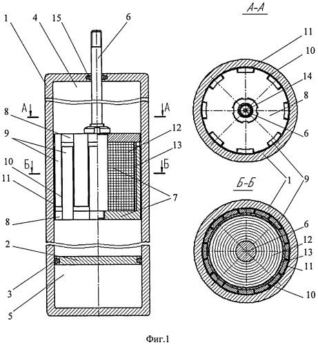 Поршневой магнитожидкостный амортизатор