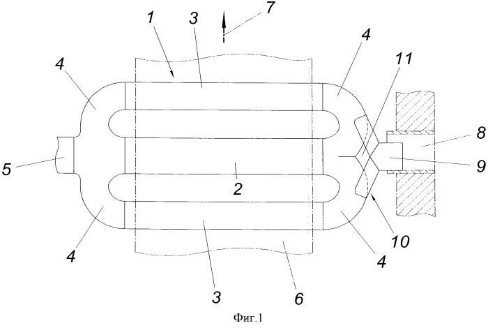Устройство для термической обработки рулонных полос