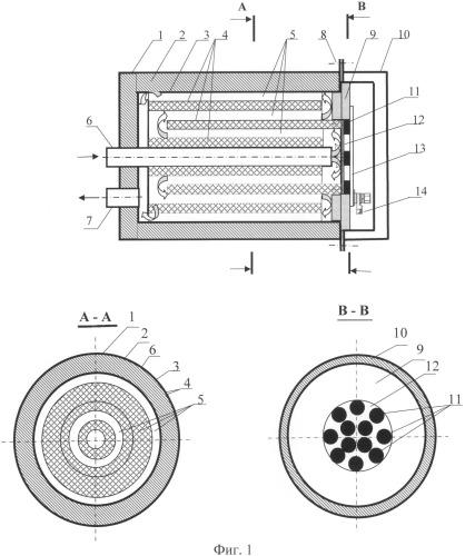Тепловой аккумулятор фазового перехода с саморегулируемым устройством электроподогрева