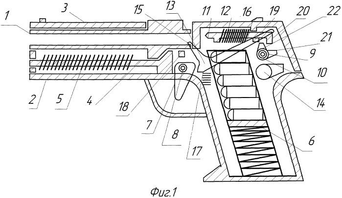 Самозарядный пистолет