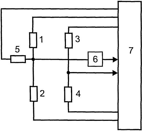 Микроконтроллерный измерительный преобразователь с уравновешиванием резистивного моста