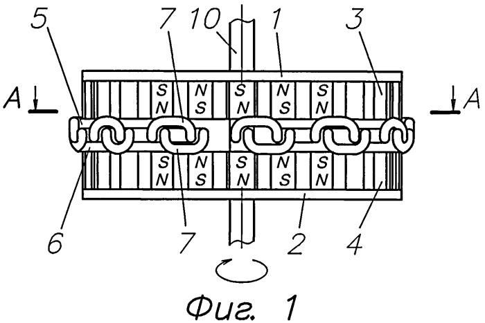 Магнитоэлектрический генератор
