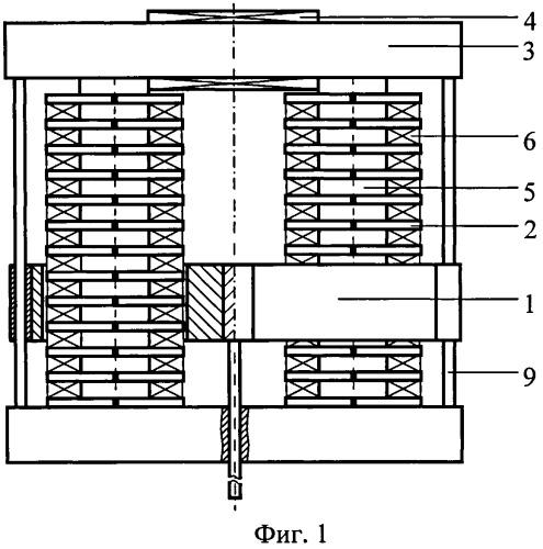 Стержневая линейная электрическая машина