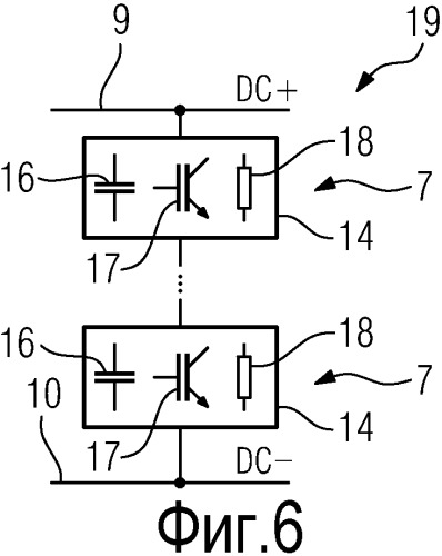 Вентильный преобразователь переменного тока с распределенными тормозными сопротивлениями