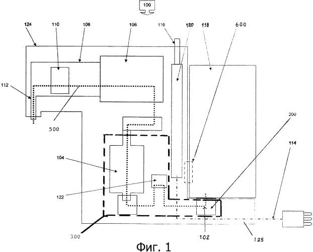 Система циркуляции воды в устройстве для приготовления напитков